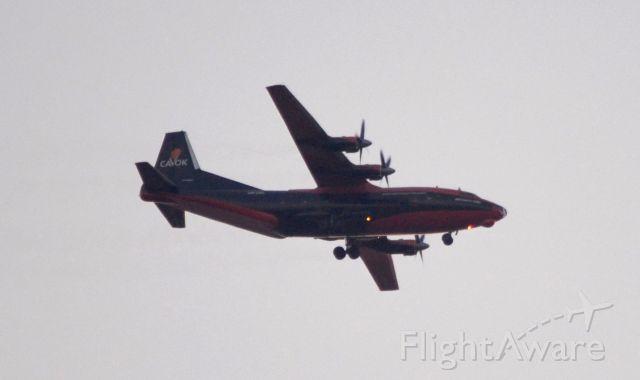 Antonov An-12 (UR-CKL) - Cavok Air #7088 - Antonov AN-12 from St. John