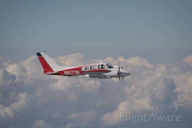 Cessna 310 (N8177M) - Flying High!!