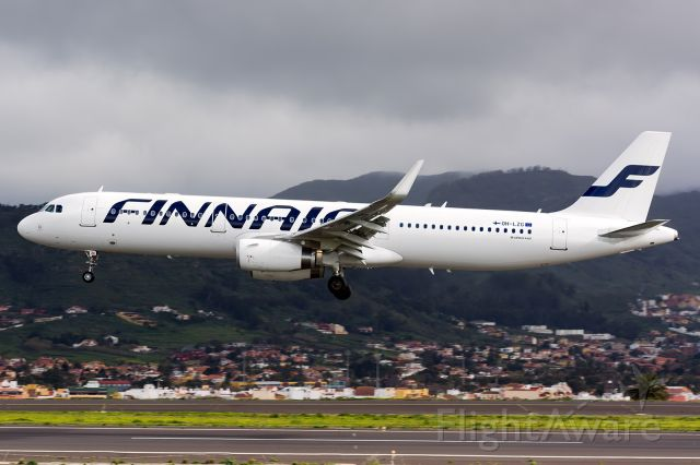 Airbus A321 (OH-LZG)