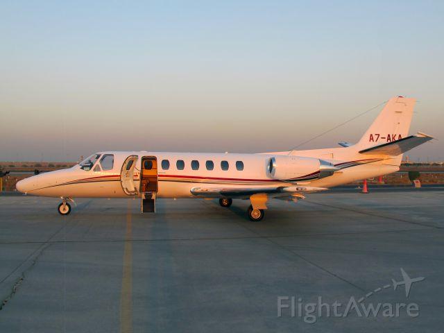 Cessna Citation V (A7-AKA)