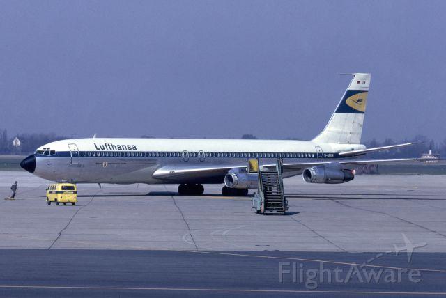 Boeing 707-300 (D-ABUM) - April 1969 at Düsseldorf (EDDL)