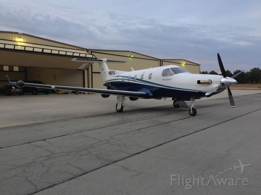 Photo Of Pilatus Pc 12 N8yu Flightaware