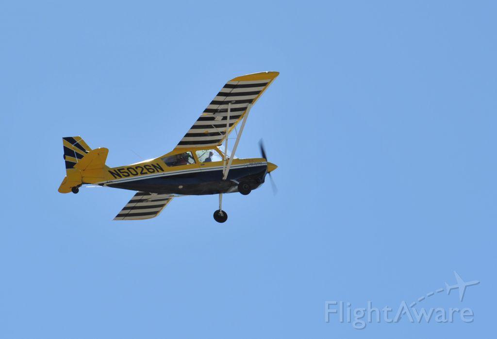 CHAMPION Decathlon (N5026N) - Leaving runway 27 KAXH for some aerobatic flight.