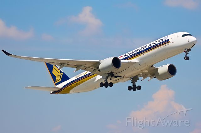 Airbus A350-900 (9V-SMF)