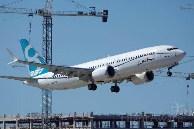 Boeing 737 MAX 8 (N8702L) - BOE2 missed approach runway 4