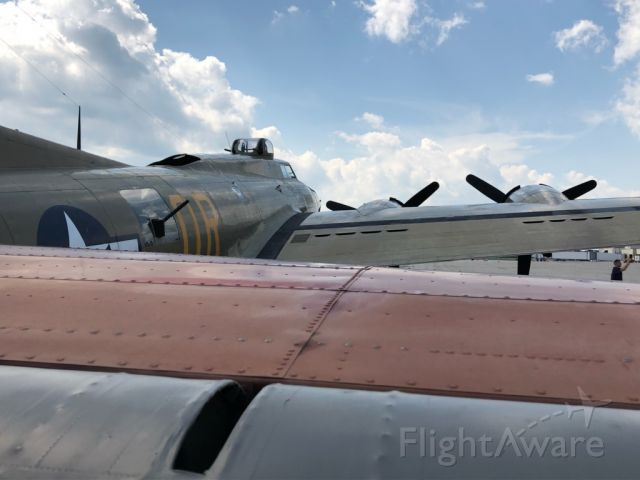 Boeing B-17 Flying Fortress (23-1909) - B-17. At Springfield, IL. 2018. Army Air Corps,. A part of history.