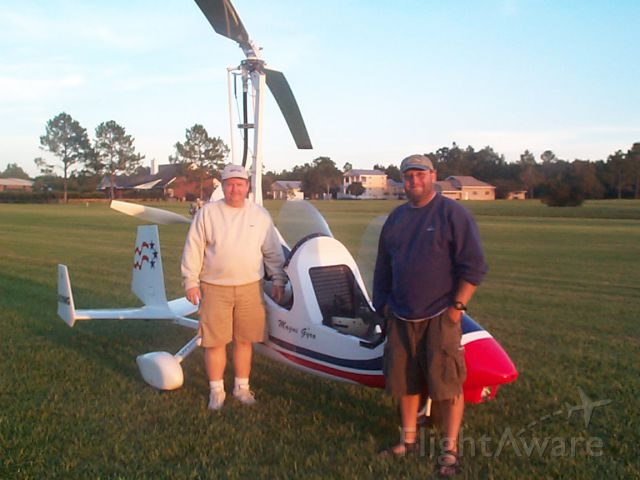 Unknown/Generic Ultralight autogyro (N216MG) - Ken Gregory and Paul Salmon at Sandy Creek Airpark with N216MG in 2006