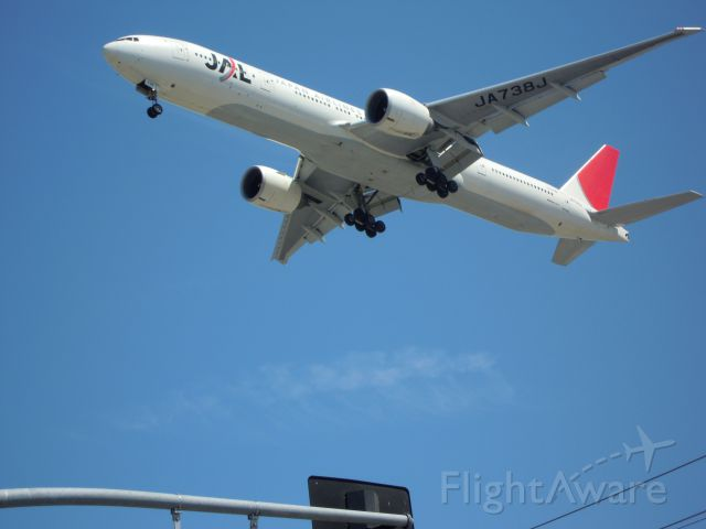 BOEING 777-300 — - japan airliners 777-300 lax