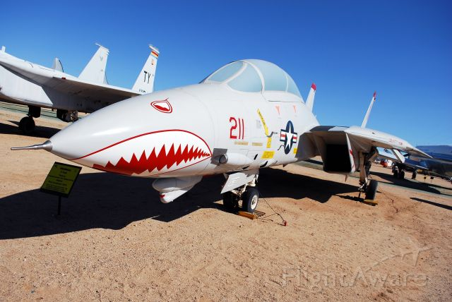 Grumman F-14 Tomcat (16-0684) - F-14 on display at the Pima Air and Space Museum, next to Davis-Monthan AFB.