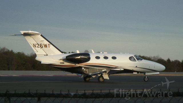 Cessna Citation Mustang (N26WF)