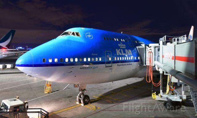 Boeing 747-400 (PH-BFS) - KLM Boeing 747-406(M) PH-BFS in Toronto