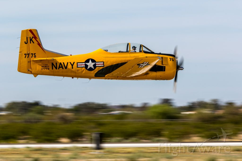 North American Trojan (N28CT) - Cactus Fly-In March 4, 2016