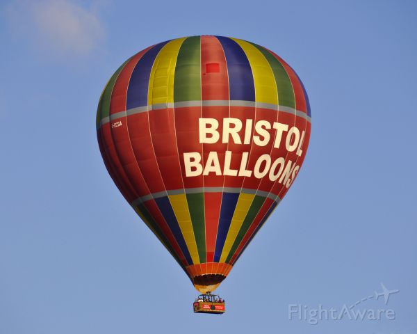 G-CCSA — - Ballooning Network Ltd Cameron Z-350 G-CCSA over Bristol