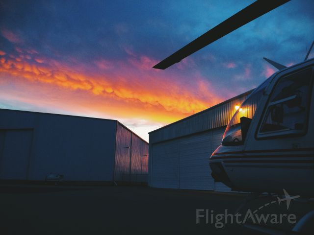 N31HH — - Awesome sunset after a long day of flying.