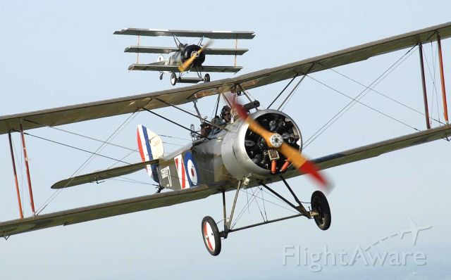 C-GDRI — - GWFM 1sopwith 1 1/2 Strutter and one of their Tri-Planes