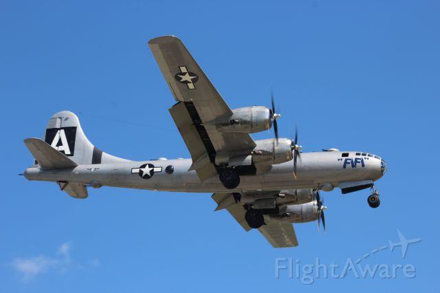 Boeing B-29 Superfortress (N529B) - On final at Appleton International..........