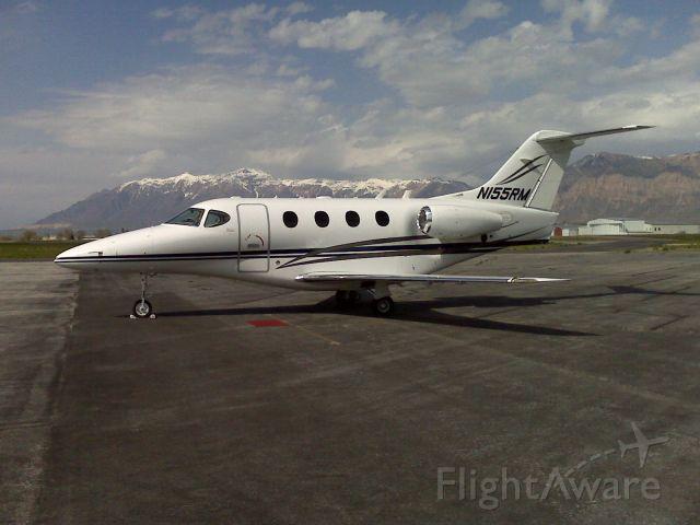 Beechcraft Premier 1 (N155RM) - Parked at Ogden Jet Center Ogden UT April 09