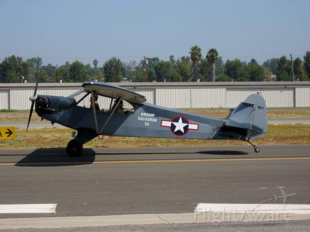 N42868 — - 1945 Piper J3C-65br /Taxiing at Fullerton