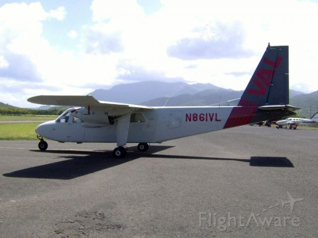 ROMAERO Islander (N861VL)
