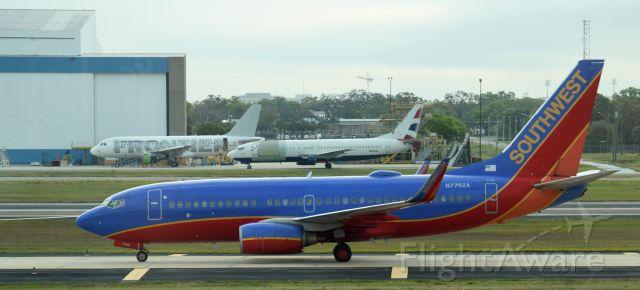 Boeing 737-700 (N7702A) - KTPA Terminal