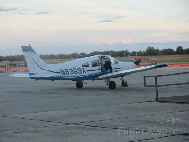 Piper Cherokee (N8369A) - At Joplin,MO in August of 2014.
