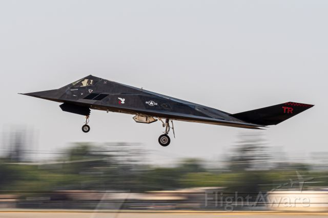 Lockheed Nighthawk — - Unknown reg // F-117 recovery at Fresno Intl, September 2021