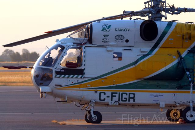 KAMOV Ka-32 (C-FIGR) - KRDD - 8/16/2016 - KA-32 at Redding & overnighted. I had only seen this -32 around the 1st of June 2016 - now this is the 2nd visit I have seen.!
