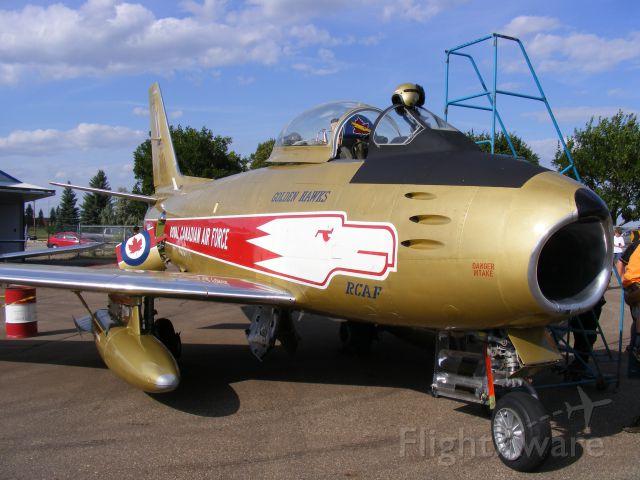 North American F-86 Sabre (C-GSBR) - Century of Flight display