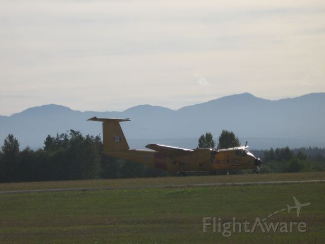 — — - Buffalo CC-115  Six Canadian Forces CC-115s are ar kept hopping by 442 Transport and Rescue Squadron CFB Comox, BC.
