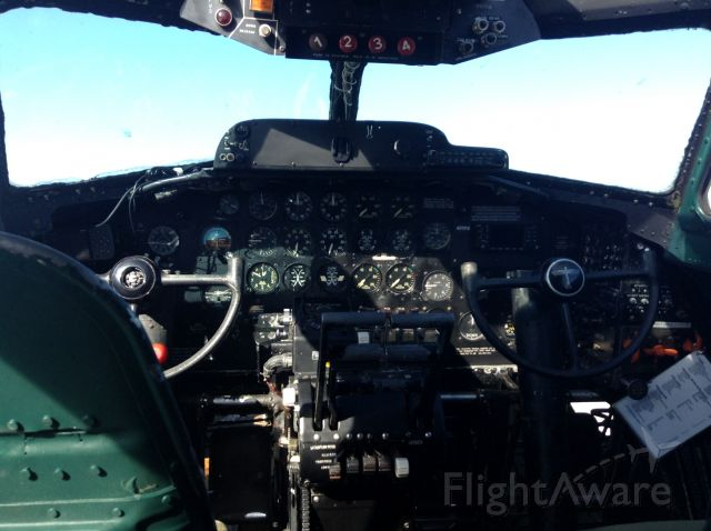 Boeing B-17 Flying Fortress — - Cockpit of b17 at Kump