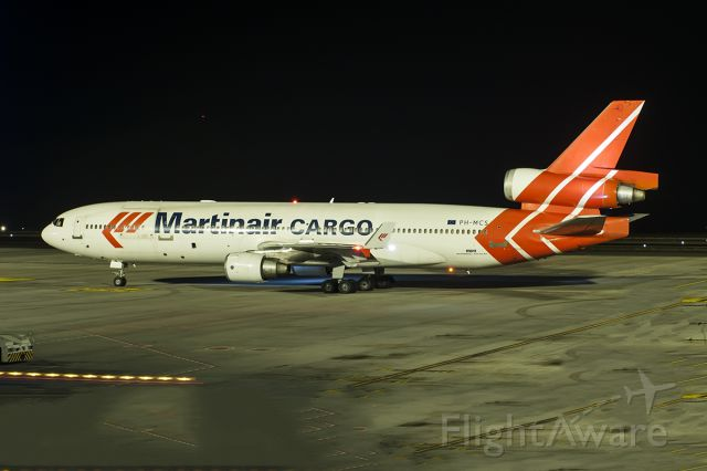 Boeing MD-11 (PH-MCS) - CONFIRMING TO CONTINUE YOUR FLIGHT DETAILS