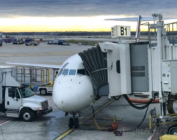 McDonnell Douglas MD-88 (N903DE) - Taken 2/8/20.  Getting ready for our flight to PHL.