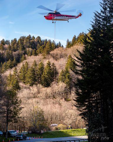N906CH — - Flying 250 gallon LPG tanks to Mt. LeConte Lodge
