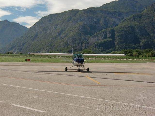 I-CNTR — - A Cessna 172 Skyhawk at the Trento Airport, in Italy