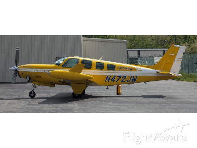 Beechcraft Bonanza (N472JW) - A very powerful aircraft!