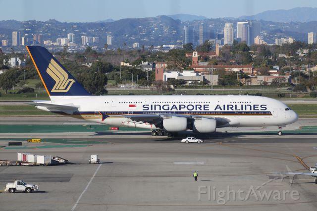 Airbus A380-800 (9V-SKR)