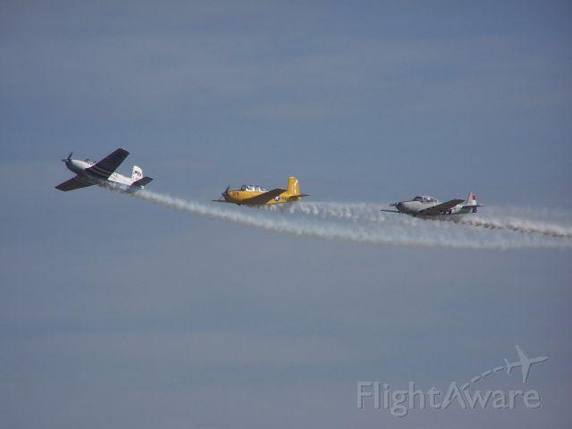 — — - Warbirds over Muskegon CareAffaire- Wings of Mercy  Taken bt Flight Director- Sharon Huminsky