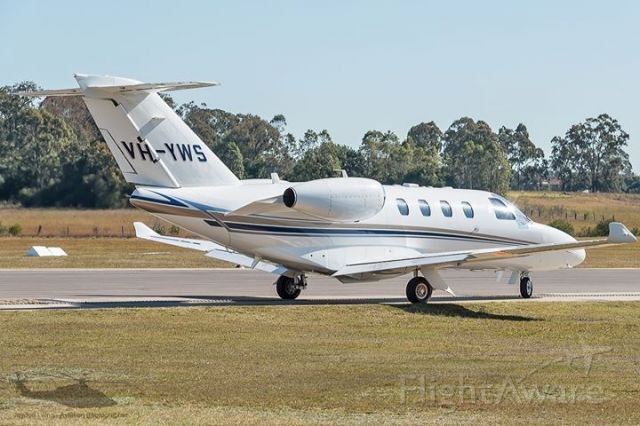 Cessna Citation CJ1 (VH-YWS) - Family to Hunter and Port Stephens