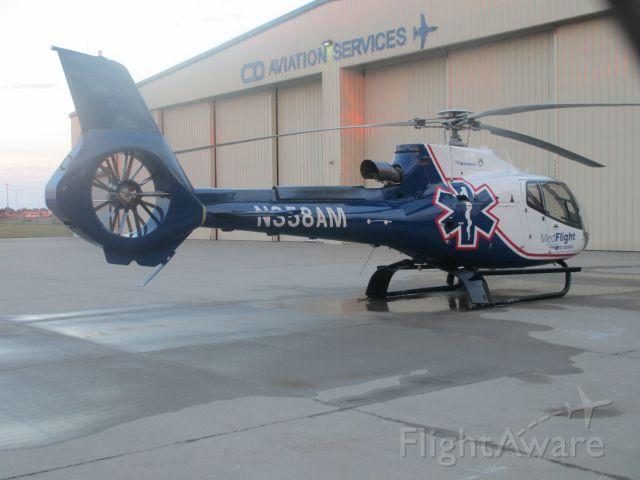 Eurocopter EC-130 (N358AM) - 2010 EUROCOPTER EC 130 B4 at Joplin,MO