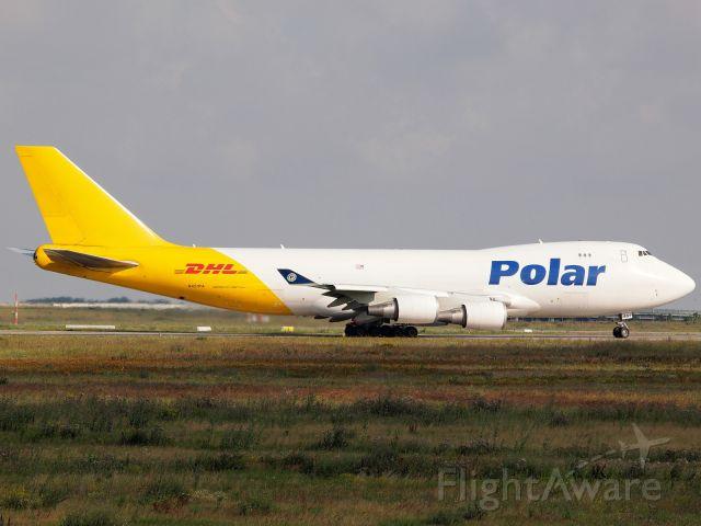 Boeing 747-400 (N451PA) - PAC (N451PA) in LEJ