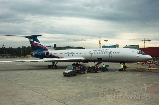 RA-85661 — - Tu-154Ms in the Aeroflot Fleet are being retired in favor of the A320 Family