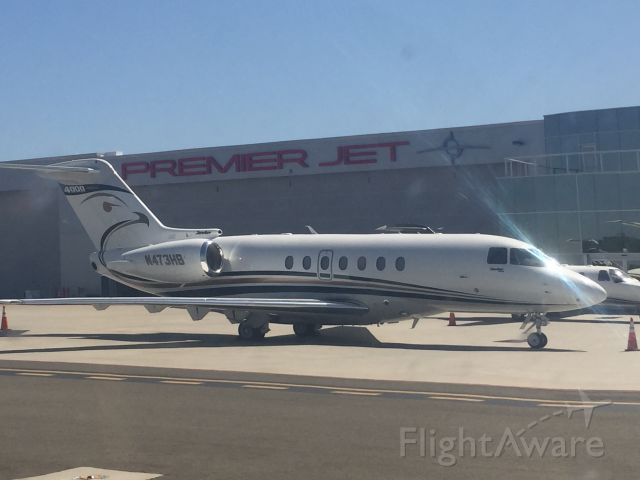 Hawker Beechcraft 4000 (N473HB) - Passing this beauty while taxing in the Cessna