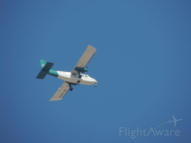 ROMAERO Turbine Islander (OY-CKS) - Britten-Norman BN-2A-21 Islander of Cowi Aerial Survey over Seville Spain. 12/06/2013
