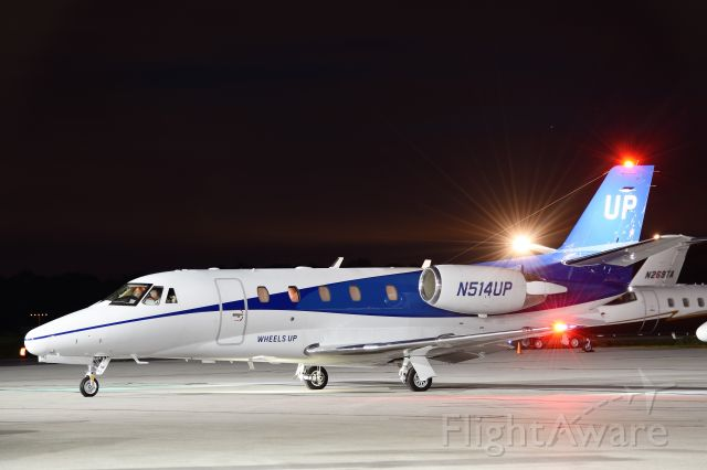 Cessna Citation Excel/XLS (N514UP)