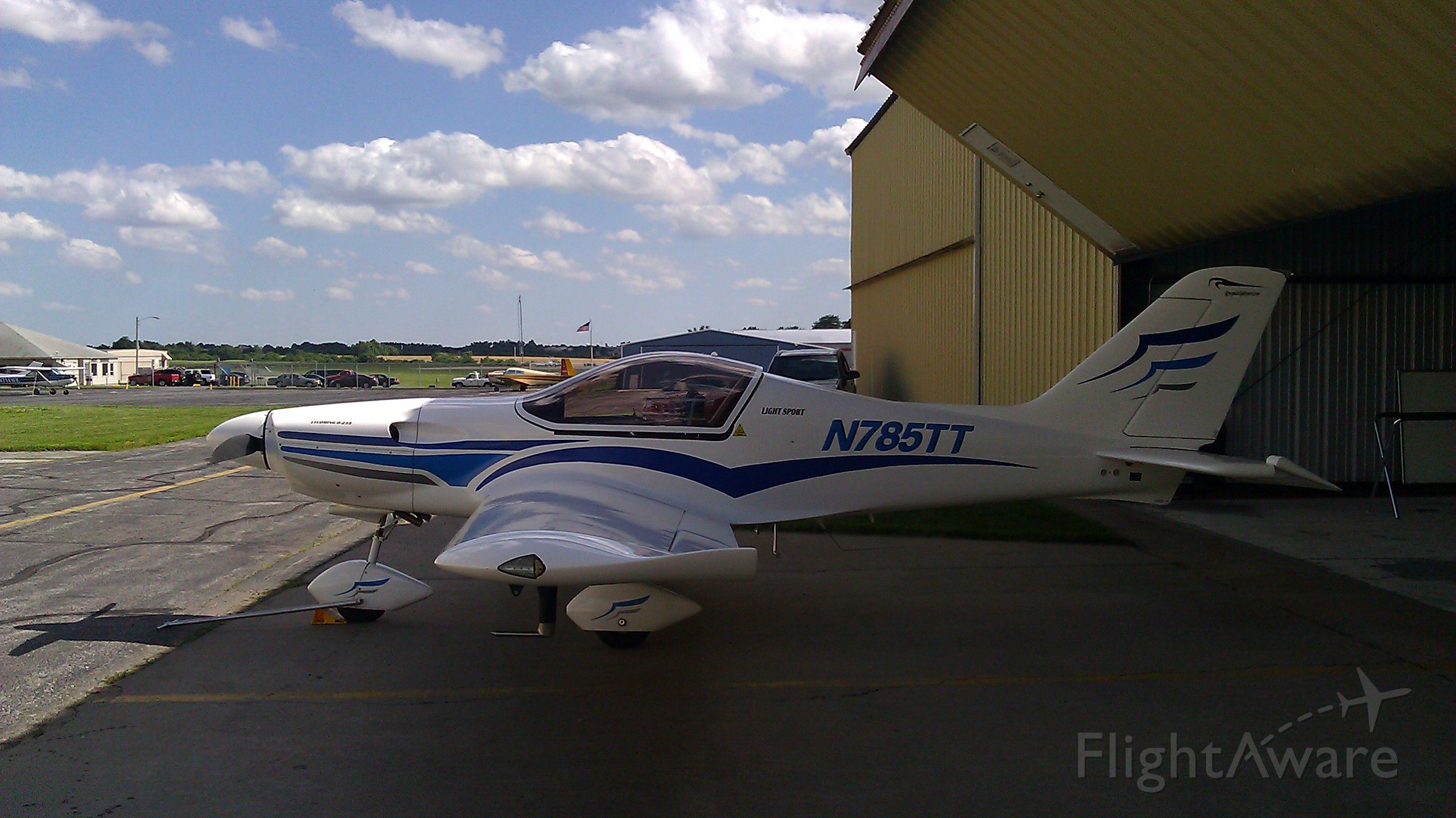 Experimental 100kts-200kts (N785TT) - The Falcon LS. Manufactured with a 116HP Lycomimg o-235. Available for rental or flight instruction at Renegade Light Sport.