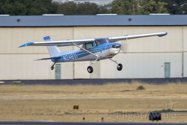 Cessna 152 (N24831) - Cessna 152 at Livermore Municipal Airport (CA). July 2021
