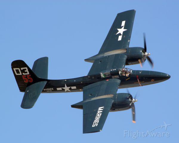 "N700F — - Grumman F7F-3P Tigercat (Bu No. 80503) ""Here Kitty, Kitty!""  For some reason it"