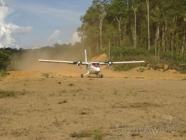 De Havilland Canada Twin Otter (PZ-TBW) - Just landed at Tossokreek - Suriname