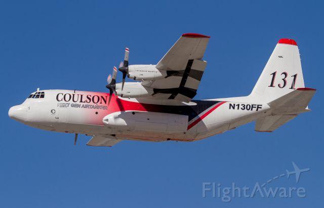 Lockheed C-130 Hercules (N130FF) - EC-130Q Hercules departing Boise Airport