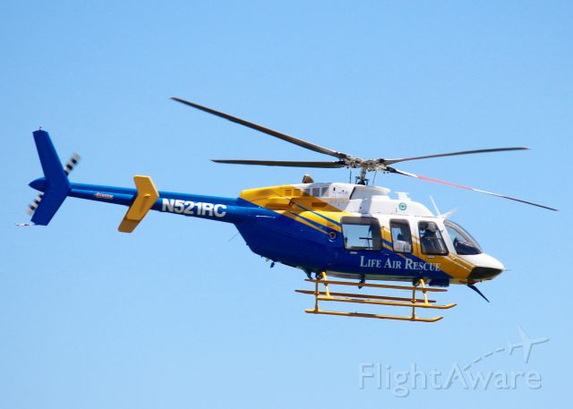 Bell 407 (N521RC) - At Downtown Shreveport. 2014 Bell Textron Canada 407